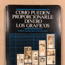 Libros de segunda mano: COMO PUEDEN PROPORCIONARLE DINERO LOS GRÁFICOS (ANÁLISIS TÉCNICO PARA INVERSIONISTAS). T.H. STEWART. Lote 194703733