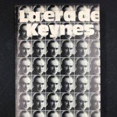 Libros de segunda mano: LA ERA DE KEYNES - ROBERT LEKACHMAN - Nº 245 ALIANZA EDITORIAL 1ª EDICION 1970. Lote 194722730