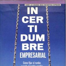 Libros de segunda mano: INCERTIDUMBRE EMPRESARIAL RELÁJESE - PHIL HODGSON RANDALL PEARSON ALHAMBRA - FINANCIAL TIMES. Lote 194858325