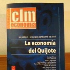 Libros de segunda mano: LA ECONOMÍA DEL QUIJOTE. (LA ECONOMÍA ESPAÑOLA EN TIEMPOS DEL QUIJOTE). VER ÍNDICE.. Lote 194899532