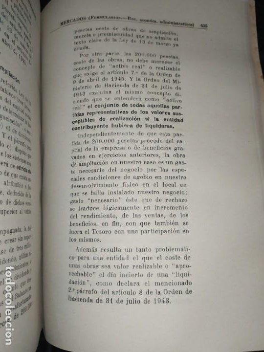 Libros de segunda mano: MERCADOS E. GRAMER 1948 LA MONEDA LOS PRECIOS ALMACENES TIENDAS EL ACCIONISTA - Foto 2 - 194906152