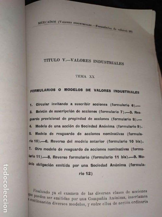 Libros de segunda mano: MERCADOS E. GRAMER 1948 LA MONEDA LOS PRECIOS ALMACENES TIENDAS EL ACCIONISTA - Foto 6 - 194906152