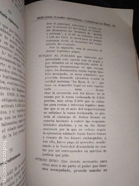Libros de segunda mano: MERCADOS E. GRAMER 1948 LA MONEDA LOS PRECIOS ALMACENES TIENDAS EL ACCIONISTA - Foto 8 - 194906152