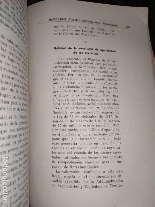 Libros de segunda mano: MERCADOS E. GRAMER 1948 LA MONEDA LOS PRECIOS ALMACENES TIENDAS EL ACCIONISTA - Foto 10 - 194906152