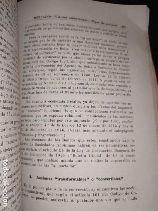Libros de segunda mano: MERCADOS E. GRAMER 1948 LA MONEDA LOS PRECIOS ALMACENES TIENDAS EL ACCIONISTA - Foto 13 - 194906152