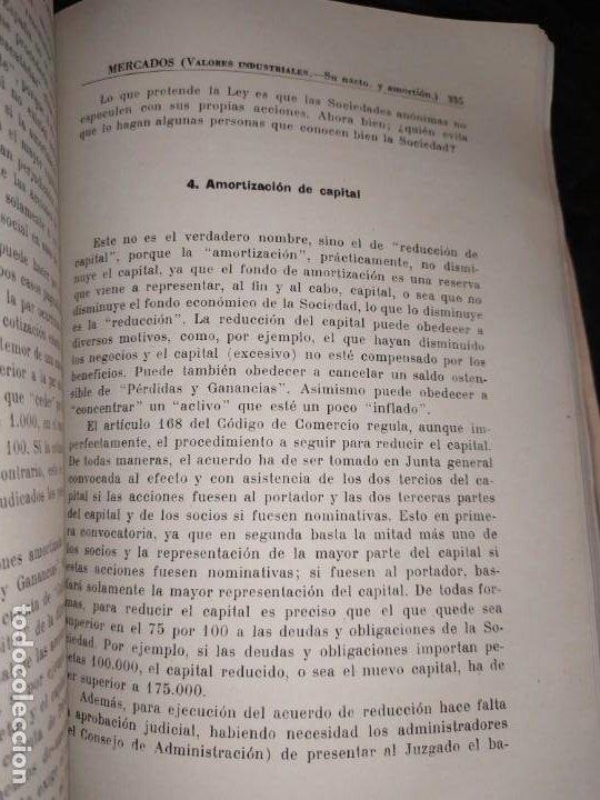 Libros de segunda mano: MERCADOS E. GRAMER 1948 LA MONEDA LOS PRECIOS ALMACENES TIENDAS EL ACCIONISTA - Foto 14 - 194906152