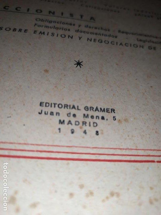 Libros de segunda mano: MERCADOS E. GRAMER 1948 LA MONEDA LOS PRECIOS ALMACENES TIENDAS EL ACCIONISTA - Foto 18 - 194906152