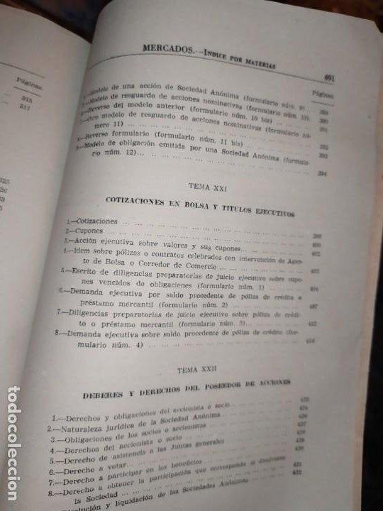 Libros de segunda mano: MERCADOS E. GRAMER 1948 LA MONEDA LOS PRECIOS ALMACENES TIENDAS EL ACCIONISTA - Foto 32 - 194906152