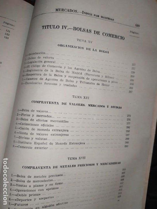 Libros de segunda mano: MERCADOS E. GRAMER 1948 LA MONEDA LOS PRECIOS ALMACENES TIENDAS EL ACCIONISTA - Foto 34 - 194906152