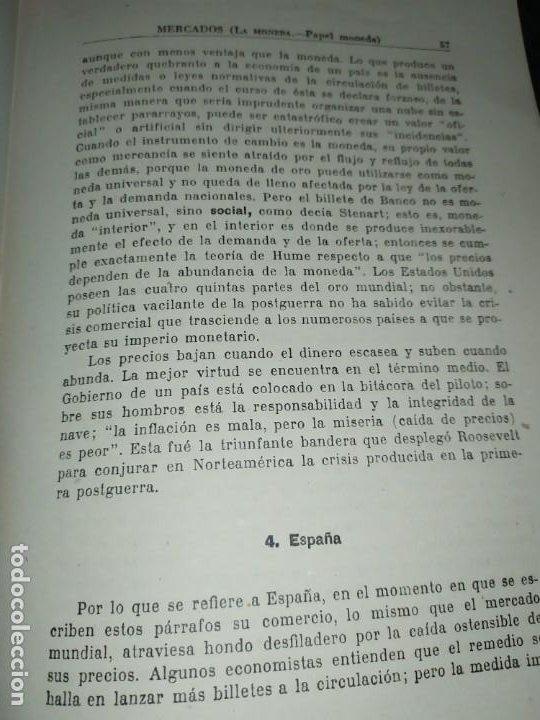Libros de segunda mano: MERCADOS E. GRAMER 1948 LA MONEDA LOS PRECIOS ALMACENES TIENDAS EL ACCIONISTA - Foto 35 - 194906152