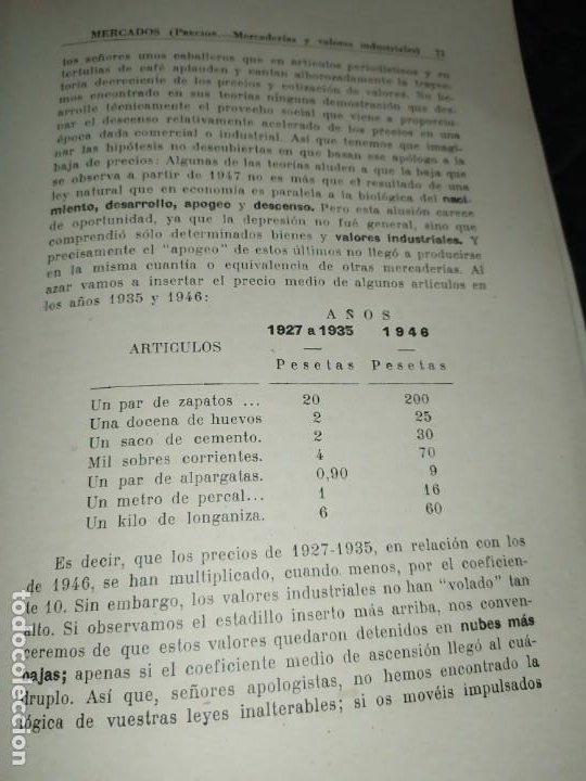 Libros de segunda mano: MERCADOS E. GRAMER 1948 LA MONEDA LOS PRECIOS ALMACENES TIENDAS EL ACCIONISTA - Foto 36 - 194906152