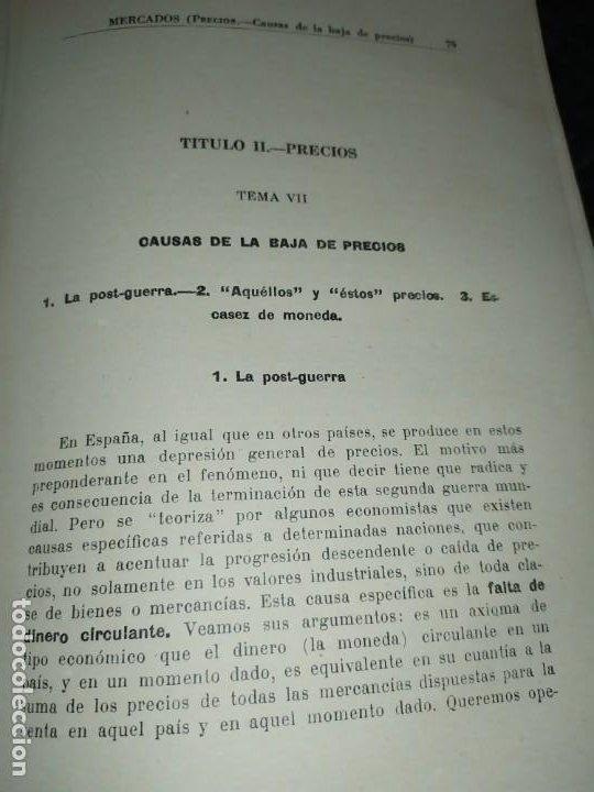 Libros de segunda mano: MERCADOS E. GRAMER 1948 LA MONEDA LOS PRECIOS ALMACENES TIENDAS EL ACCIONISTA - Foto 38 - 194906152