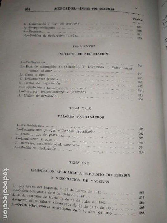 Libros de segunda mano: MERCADOS E. GRAMER 1948 LA MONEDA LOS PRECIOS ALMACENES TIENDAS EL ACCIONISTA - Foto 45 - 194906152