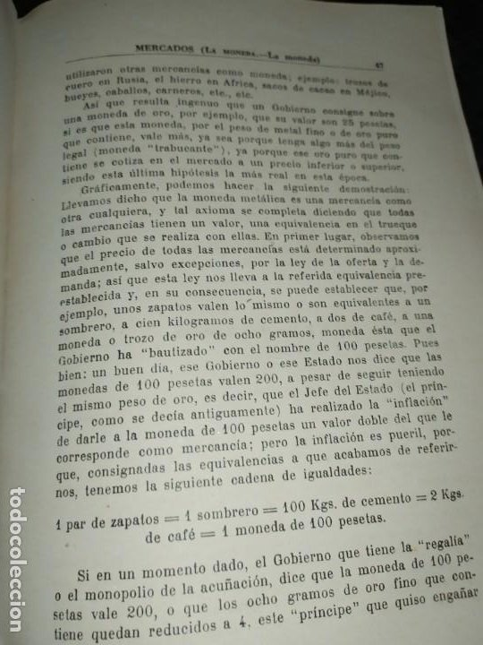 Libros de segunda mano: MERCADOS E. GRAMER 1948 LA MONEDA LOS PRECIOS ALMACENES TIENDAS EL ACCIONISTA - Foto 51 - 194906152