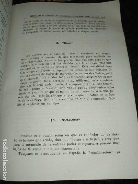 Libros de segunda mano: MERCADOS E. GRAMER 1948 LA MONEDA LOS PRECIOS ALMACENES TIENDAS EL ACCIONISTA - Foto 58 - 194906152