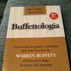Libros de segunda mano: BUFFETTOLOGIA: LAS TECNICAS JAMAS CONTADAS QUE HAN HECHO DE WARREN BUFFET . Lote 194908032
