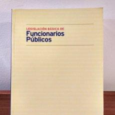 Libros de segunda mano: LEGISLACIÓN BÁSICA DE FUNCIONARIOS PÚBLICOS. VV.AA. BOMARZO, ALBACETE AÑO 2000. ISBN 848697724X. Lote 194970308