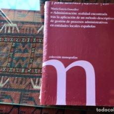 Libros de segunda mano: E-ADMINISTRACIÓN: REALIDAD ENCONTRADA TRAS LA APLICACIÓN DE UN MÉTODO DESCRIPTIVO. Lote 195061866