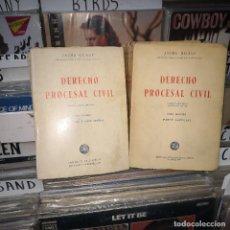 Libros de segunda mano: JAIME GUASP DERECHO PROCESAL CIVIL,TOMO 1 Y 2. Lote 195075767