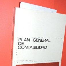 Libros de segunda mano: PLAN GENERAL DE CONTABILIDAD. ED. BANCO DE VIZCAYA. BILBAO 1978. 4ª EDICIÓN. Lote 195255003