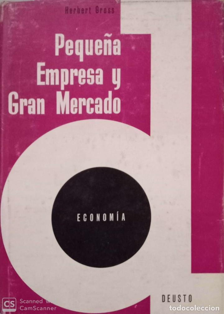 PEQUEÑA EMPRESA Y GRAN MERCADO (Libros de Segunda Mano - Ciencias, Manuales y Oficios - Derecho, Economía y Comercio)