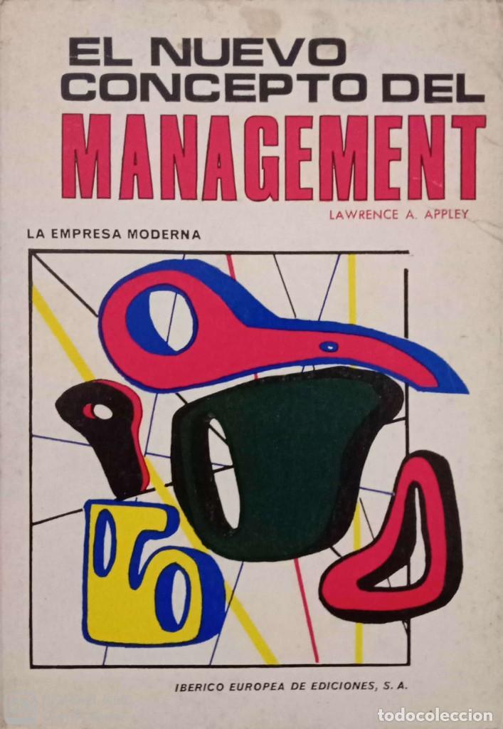 EL NUEVO CONCEPTO DEL MANAGEMENT (Libros de Segunda Mano - Ciencias, Manuales y Oficios - Derecho, Economía y Comercio)