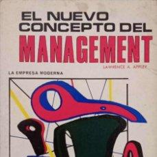 Libros de segunda mano: EL NUEVO CONCEPTO DEL MANAGEMENT. Lote 195368176
