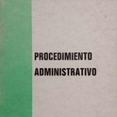 Libros de segunda mano: PROCEDIMIENTO ADMINISTRATIVO. Lote 195368790