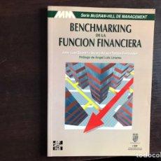 Libros de segunda mano: BENCHMARKING DE LA FUNCIÓN FINANCIERA. J. LUIS SUÁREZ. Lote 195525765