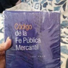 Libros de segunda mano: CÓDIGO DE LA FE PÚBLICA MERCANTIL DE LEX NOVA 1999. Lote 195541605