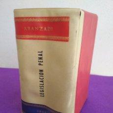 Libros de segunda mano: ARANZADI, LEGISLACIÓN PENAL, 1.968.. Lote 195545840