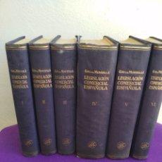 Libros de segunda mano: TRATADO DE LA LEGISLACIÓN COMERCIAL ESPAÑOLA,. Lote 195547762