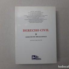 Livros em segunda mão: DERECHO CIVIL. II, DERECHO DE OBLIGACIONES POR MANUEL ALBALADEJO (2011) - ALBALADEJO, MANUEL. Lote 197546075