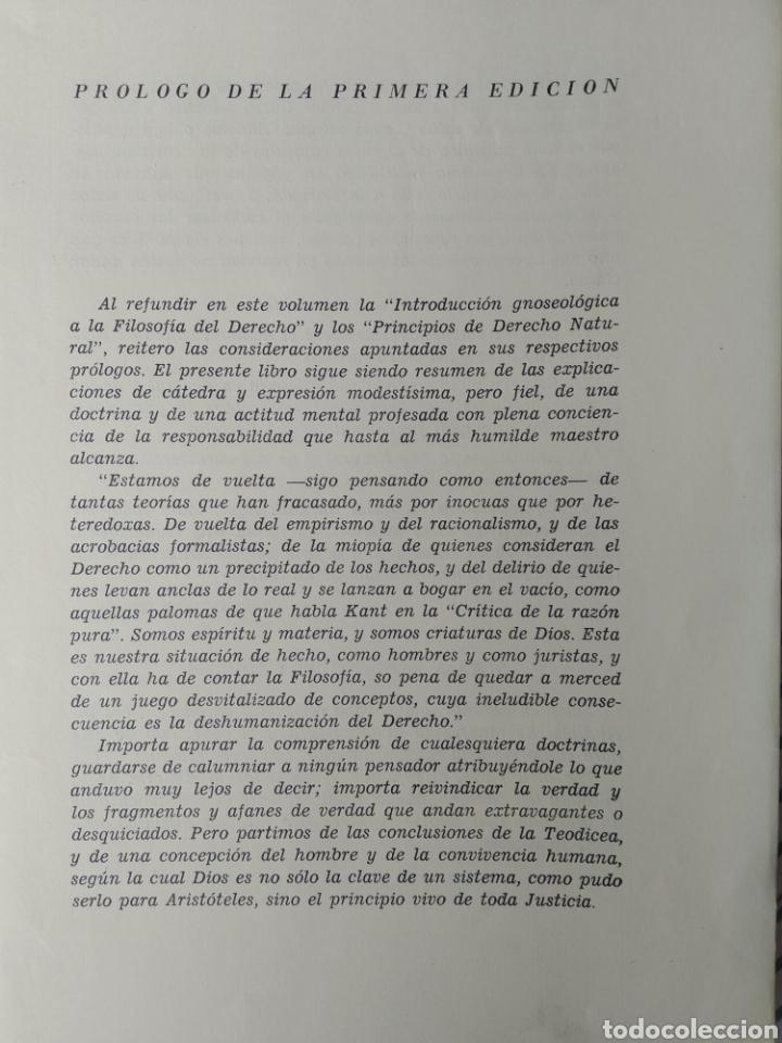 Libros de segunda mano: CURSO DE DERECHO NATURAL. JOSE CORTS GRAU. 1ªED. ED NACIONAL. 1964 - Foto 2 - 197826051