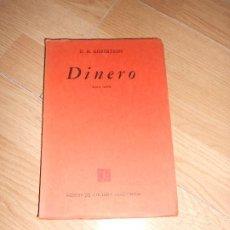 Libros de segunda mano: DINERO - D. H. ROBERTSON. Lote 201251682