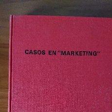 """Libros de segunda mano: CASOS EN """"MARKETING"""" – HARPER W. BOYD JR.; DONALD T. GIBSON – UNIVERSIDAD DE STANFORD – ESCUEA PAR. Lote 201297067"""