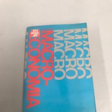 Libros de segunda mano: MACROECONOMÍA. Lote 201980278