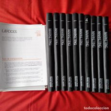Libros de segunda mano: MARKETING. EDICIONES DEUSTO PLANETA AGOSTINI 1989. 10 TOMOS COMPLETA + 100 UNIDADES DIDÁCTICAS. Lote 202265836