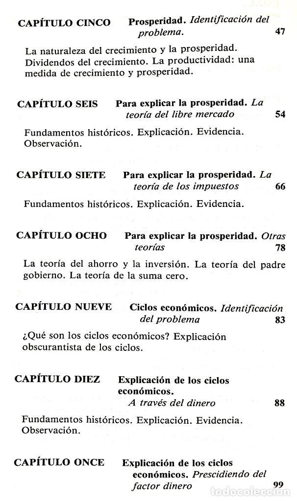 Libros de segunda mano: EL FUNCIONAMIENTO DE LA ECONOMÍA // ROBERT J. GENETSKI // EDICIONES TIBIDABO // ((1988)) - Foto 3 - 53801046