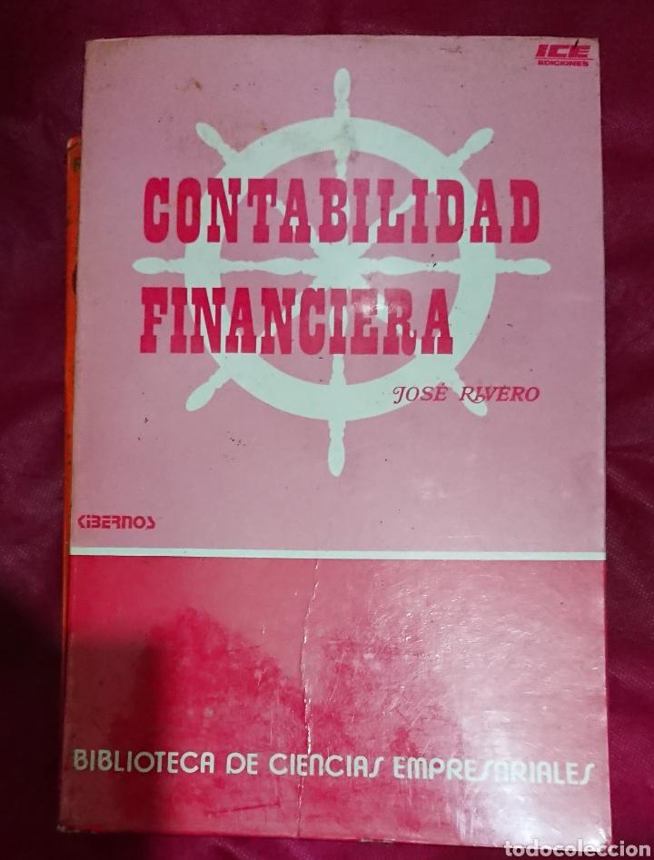 Libros de segunda mano: Contabilidad financiera Jose Rivero y Introducción a la economía positiva Richard G. Lipsey - Foto 4 - 205384762