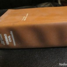Libros de segunda mano: CODIGO CIVIL COMENTADO, CON SUS APENDICES FORALES. FRANCISCO BONET RAMON.. Lote 206361720