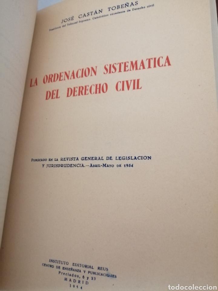 Libros de segunda mano: OBRAS DE JOSE CASTAN TOBEÑAS: 5 obras reunidas en un tomo - Foto 4 - 206365632