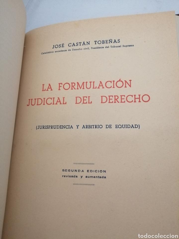 Libros de segunda mano: OBRAS DE JOSE CASTAN TOBEÑAS: 5 obras reunidas en un tomo - Foto 5 - 206365632