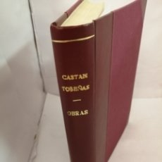 Libros de segunda mano: OBRAS DE JOSE CASTAN TOBEÑAS: 5 OBRAS REUNIDAS EN UN TOMO. Lote 206365632