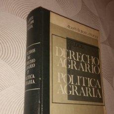 Libros de segunda mano: ESTUDIOS DE DERECHO AGRARIO Y POLITICA AGRARIA - ALBERTO BALLARIN MARCIAL (FIRMADO POR EL AUTOR). Lote 206502901