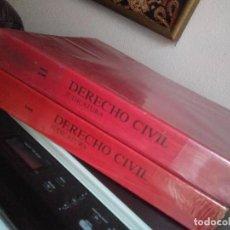 Libros de segunda mano: DERECHO CIVIL. OPOSICIONES JUDICATURA. DOS TOMOS. TEMAS 1-68. JULIO 1991. Lote 207357290