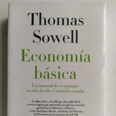 Livros em segunda mão: ECONOMÍA BÁSICA - THOMAS SOWELL - DEUSTO. Lote 207567627