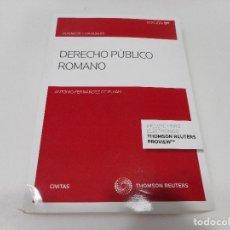 Libri di seconda mano: ANTONIO FERNÁNDEZ DE BUJÁN DERECHO PÚBLICO ROMANO Q1114W. Lote 208071288
