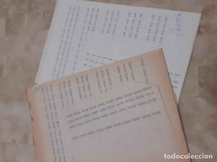 Libros de segunda mano: Ejercicios de Mecanografia Manuel Ripolles 10º edicion - Foto 5 - 208434557