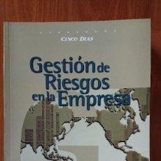 Libros de segunda mano: GESTIÓN DE RIESGOS EN LA EMPRESA - INSTITUTO SUPERIOR DE TÉCICAS Y PRÁCTICAS BANCARIAS EDICIÓN ESPEC. Lote 208443231